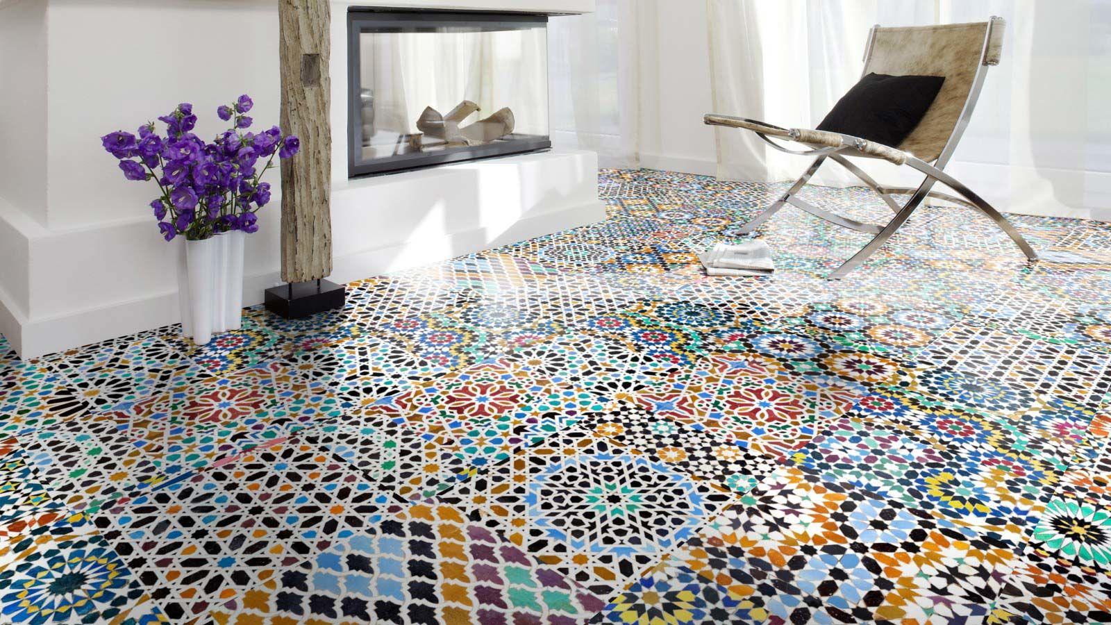 Skaben Laminate Noble 6 Aspect Mosaïque pour Support Pour Mosaique