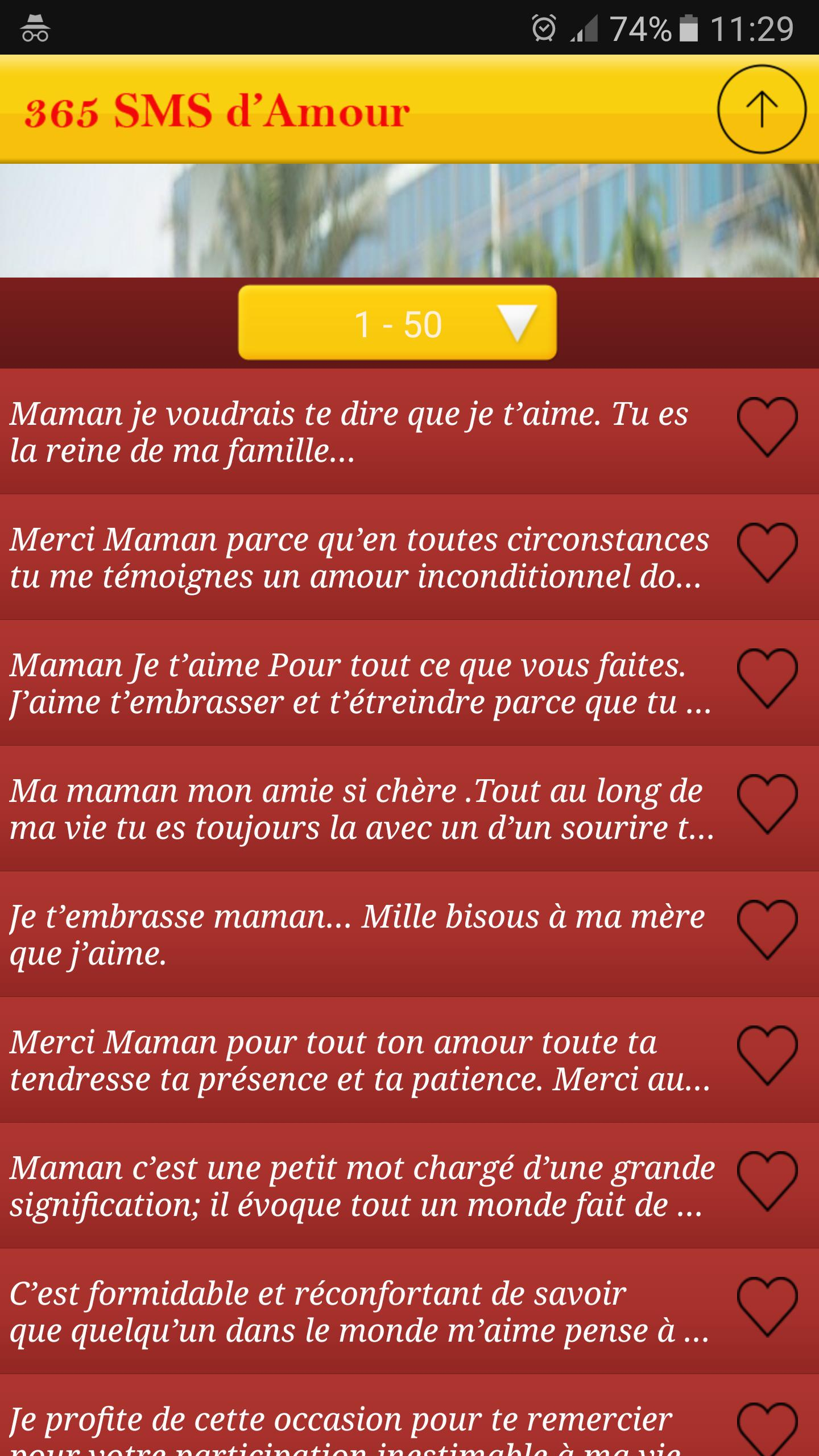 Sms Je T'aime Maman 2018 For Android - Apk Download pour Texte Maman Je T Aime