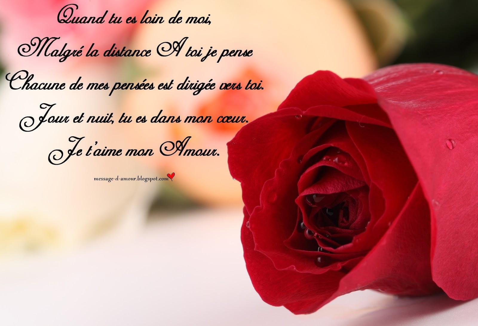 Sms Pour Dire Je Pense A Toi - Message D'amour tout Chanson Pense À Moi