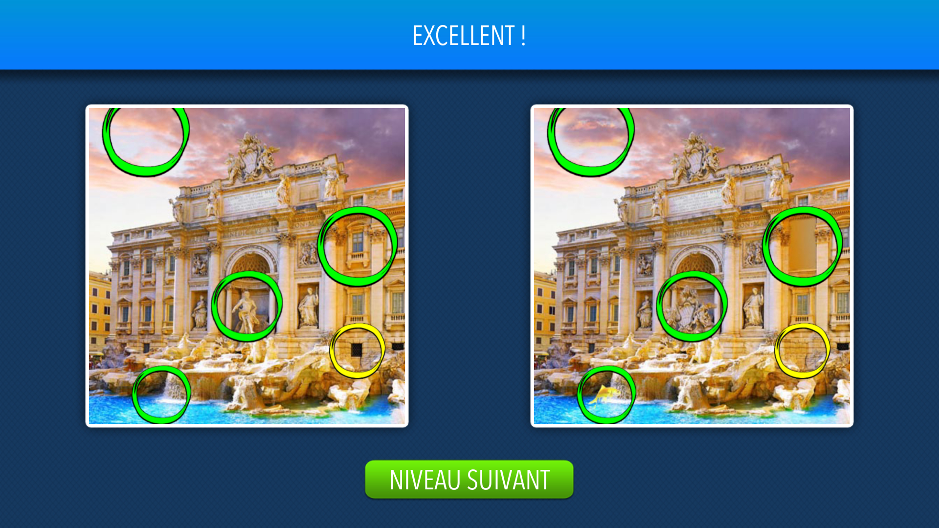 Solution Trouvez Les Différences Niveau 1 À 10 Android & Iphone intérieur Les 5 Differences