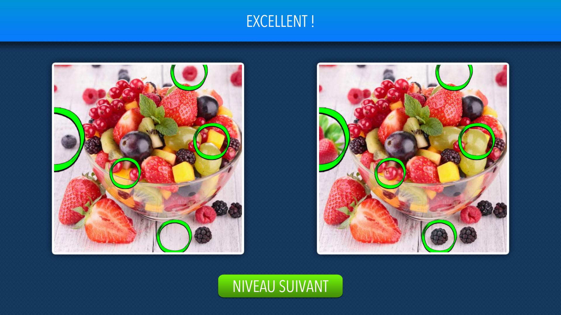 Solution Trouvez Les Différences Niveau 1 À 10 Android & Iphone tout Les 5 Differences