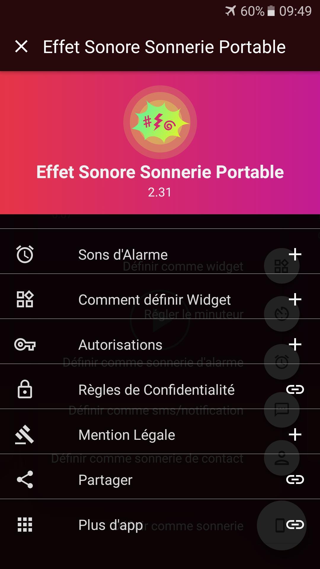 Sonnerie Effet Sonore Gratuit Pour Android - Téléchargez L'apk à Effet Sonore Gratuit