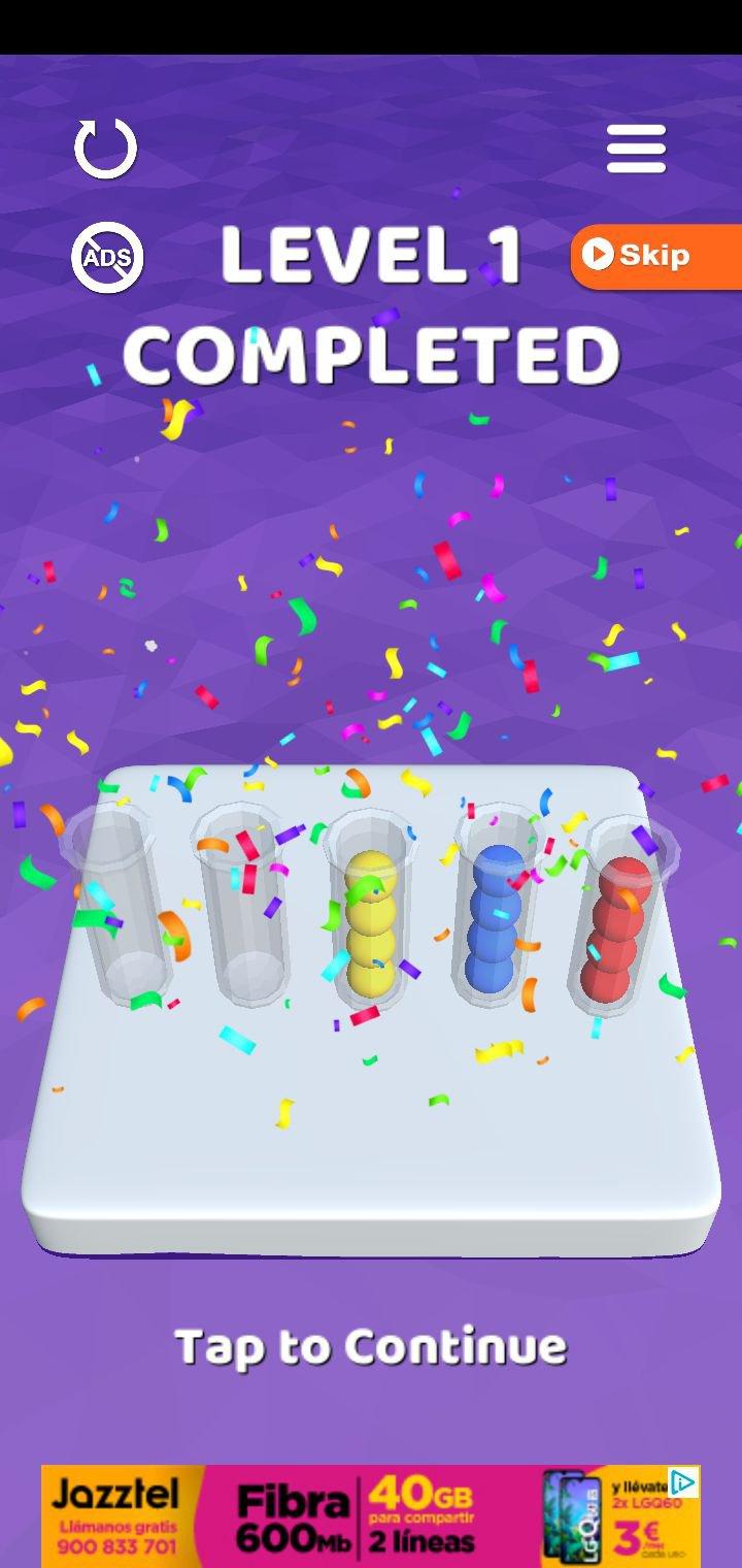 Sort It 3D 1.1.7 - Télécharger Pour Android Apk Gratuitement tout Jeux De Puissance 4 Gratuit