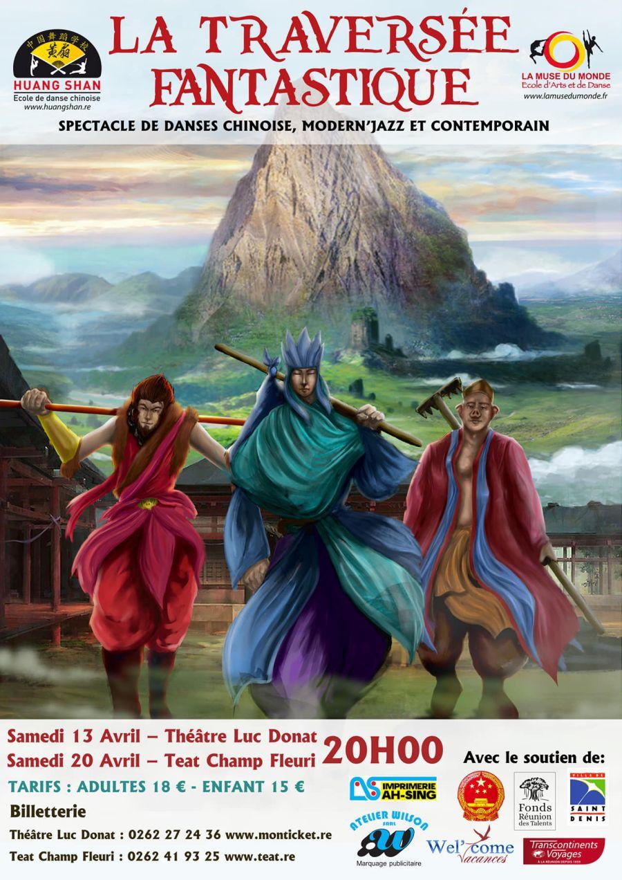 """Spectacle """"la Traversée Fantastique"""" - Danse Et Arts Chinois encequiconcerne Spectacle Danse Chinoise"""