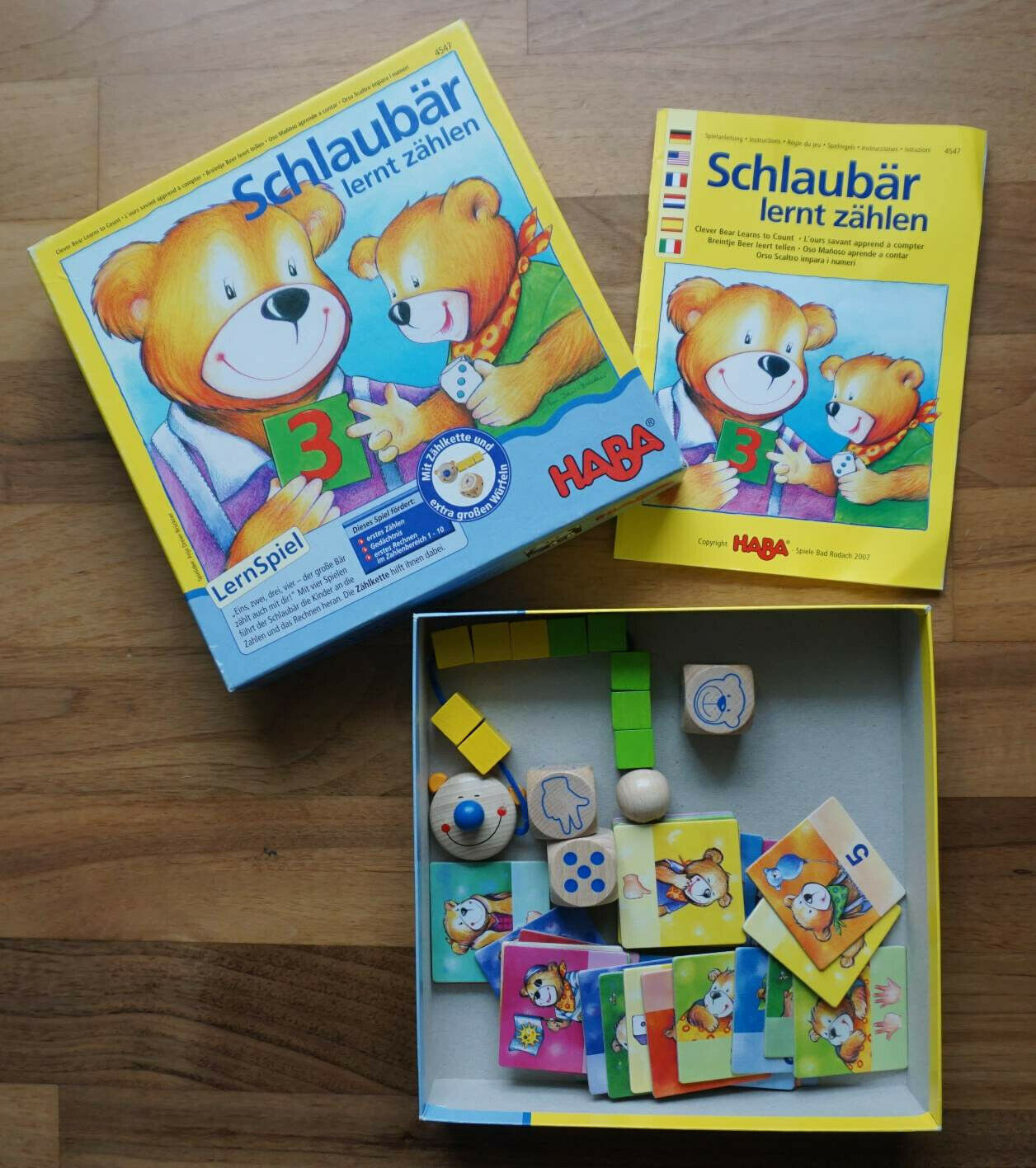 Spiel Haba Schlaubär Lernt Zählen 4547 dedans Ours Savant