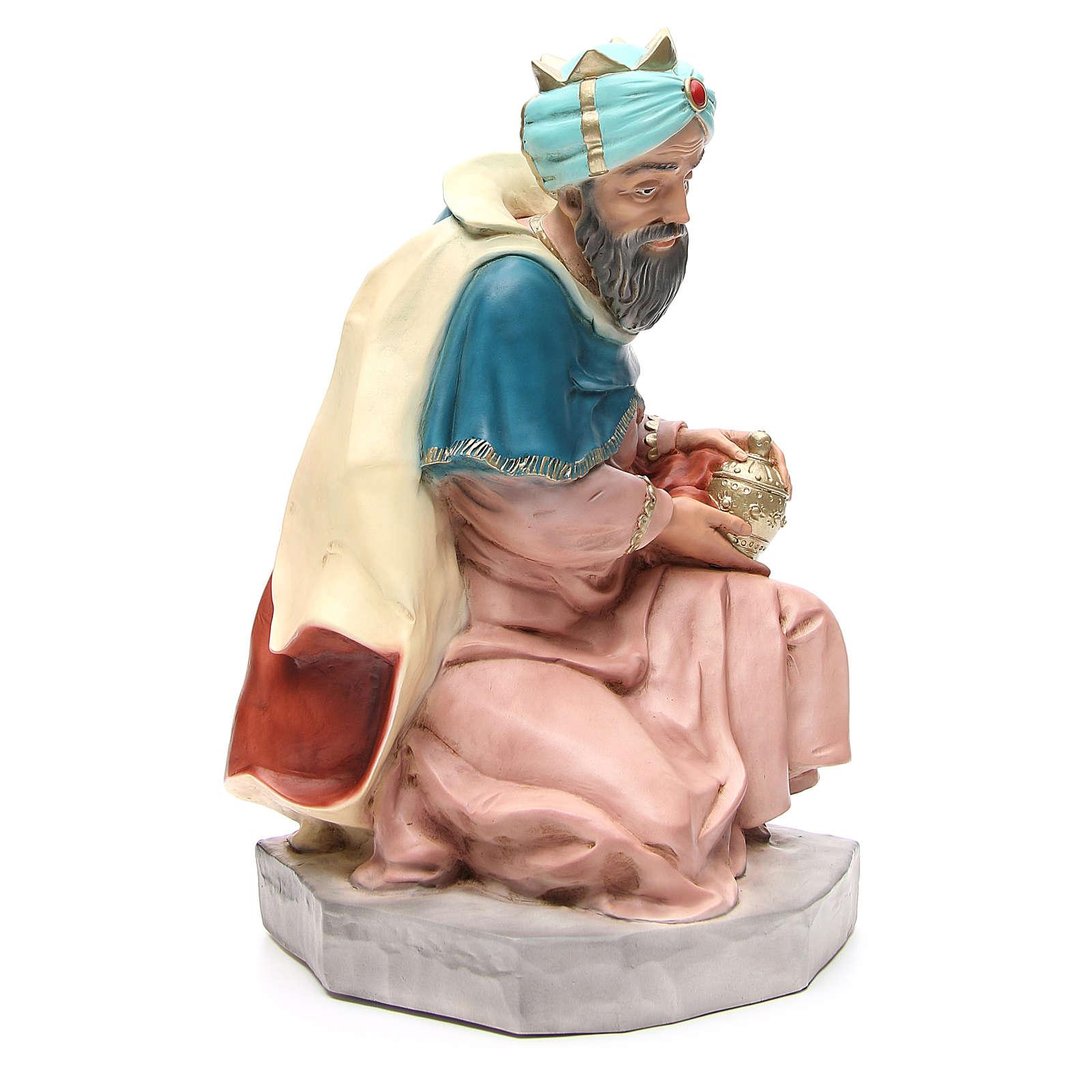 Statue Roi Mage Melchior Pour Crèche 65 Cm pour 3 Roi Mage