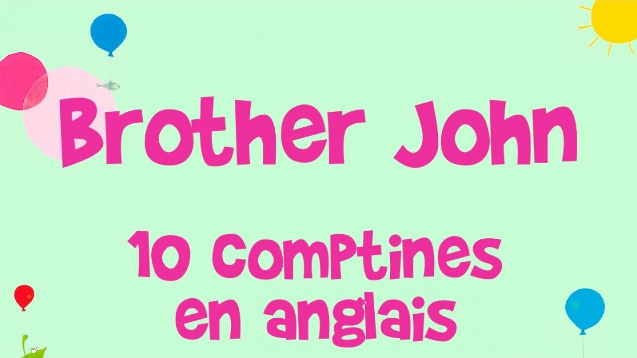 Steve Waring - Brother John - 10 Comptines En Anglais Pour Les Enfants avec Frere Jacques Anglais