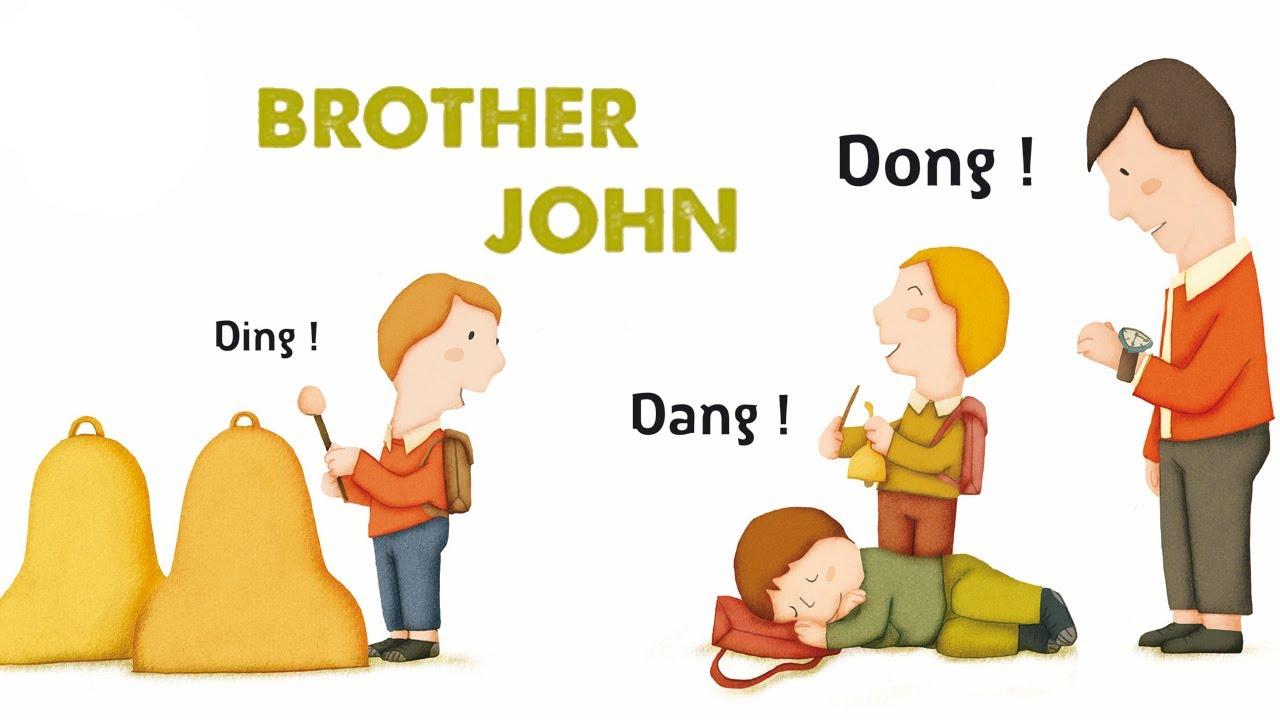 Steve Waring - Brother John - Comptine Anglaise Pour Enfants encequiconcerne Frere Jacques Anglais