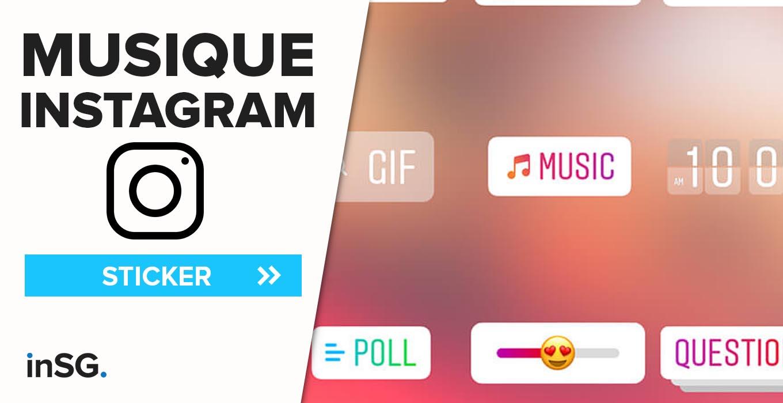 Sticker Musique En Stories Instagram Et Paroles En Story Sur encequiconcerne Retrouver Une Musique Avec Parole
