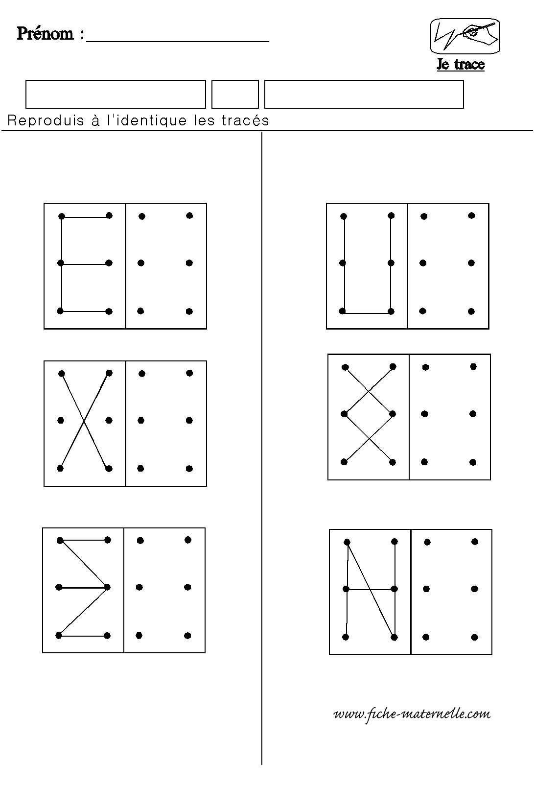 Structuration De L'espace En Maternelle | Fiches De Travail encequiconcerne Fiche D Exercice Grande Section A Imprimer