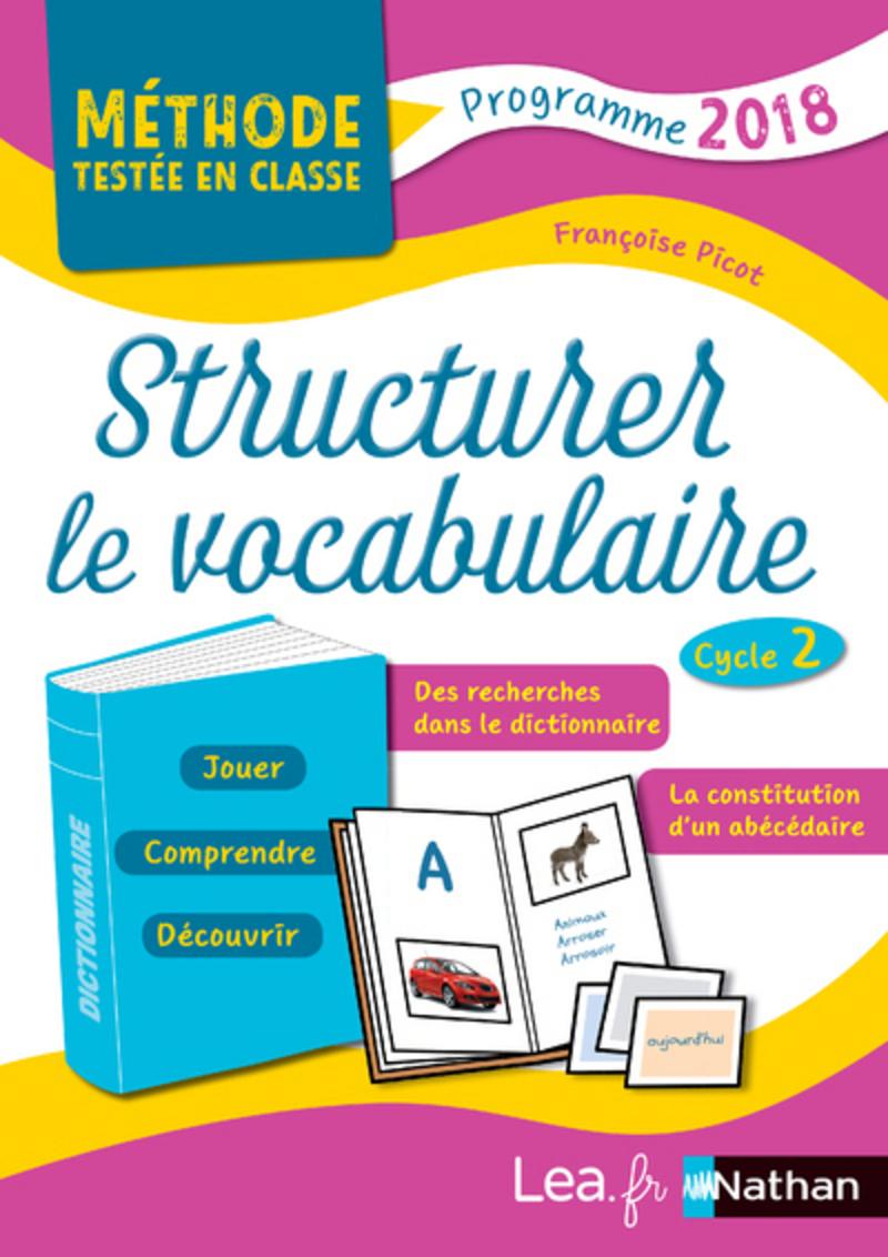 Structurer Le Vocabulaire - Cycle 2 - Livre De Pédagogie destiné Musique Cycle 2