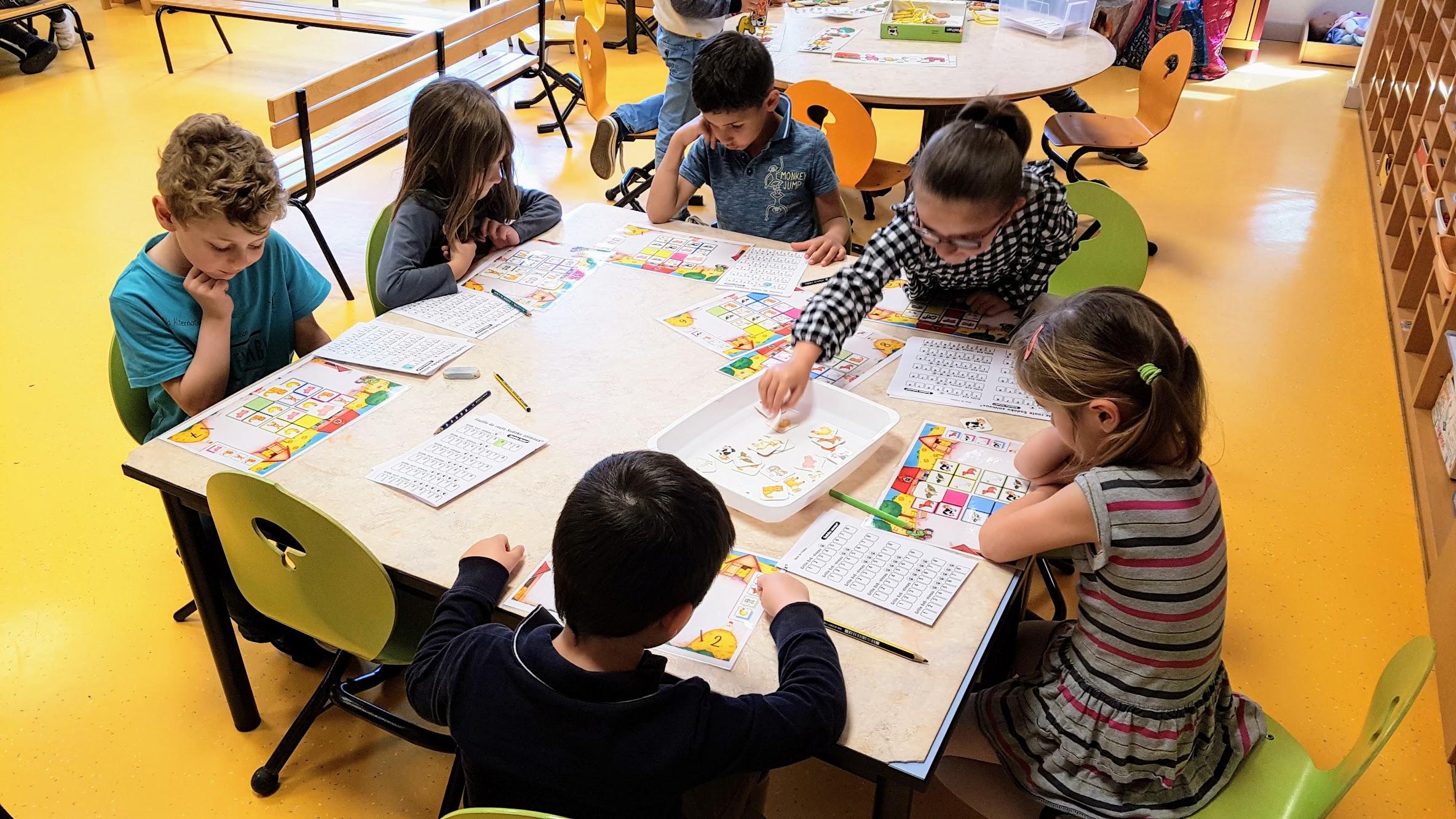 Sudoku Des Animaux | Blog De La Classe Des Petits/grands tout Sudoku Grande Section
