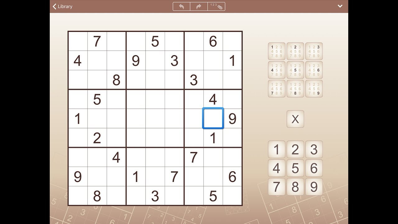 Sudoku For Iphone, Ipad And Android destiné Sudoku Grande Section