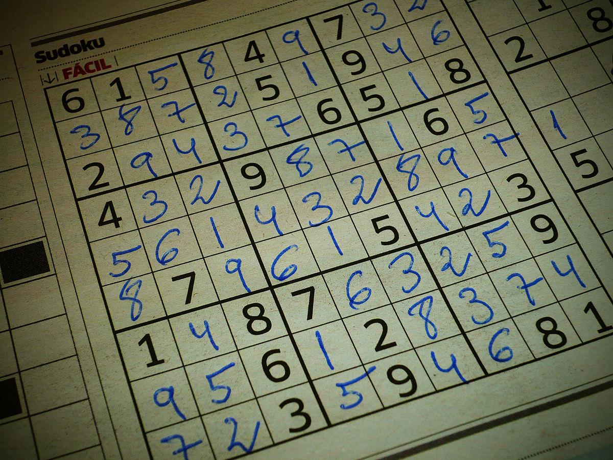 Sudoku — Wikipédia encequiconcerne Sudoku Grande Section