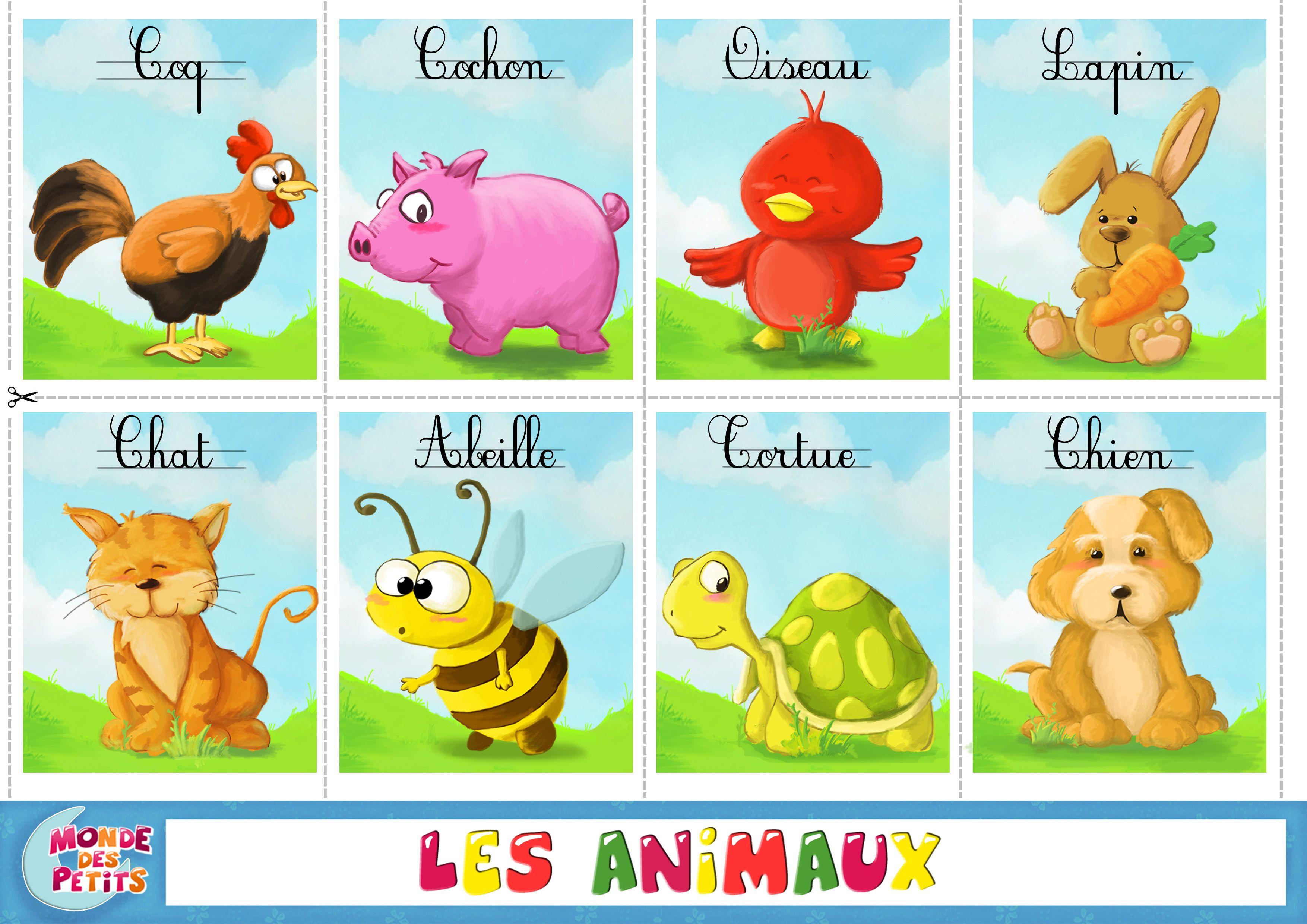 Superior Petite Image D Animaux A Imprimer (Avec Images à Apprendre Les Animaux Pour Bebe