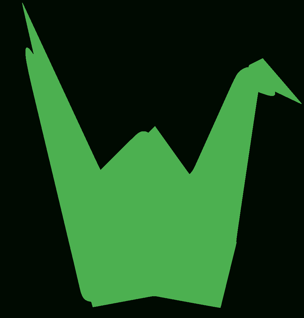 Svg > Canard Grue Origami - Image Et Icône Svg Gratuite tout Origami Canard