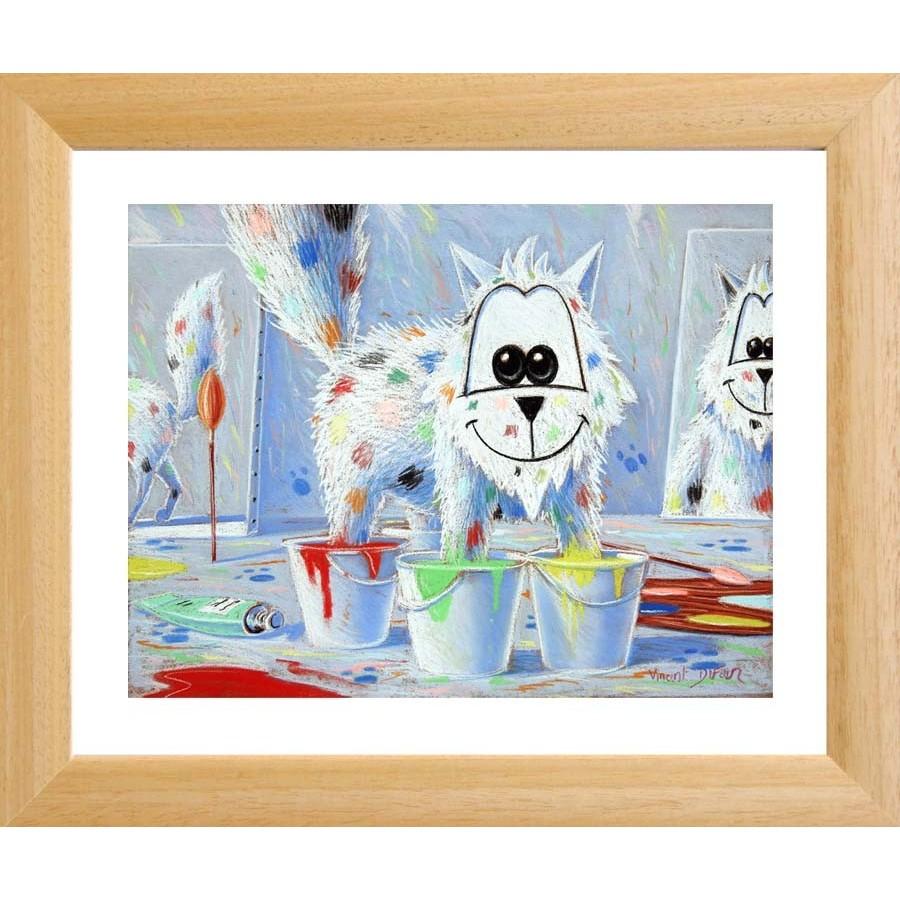 """Tableau """"les 4 Pieds Dans La Peinture"""" Tableau Pour Bébé dedans Tableau De Peinture Pour Enfant"""