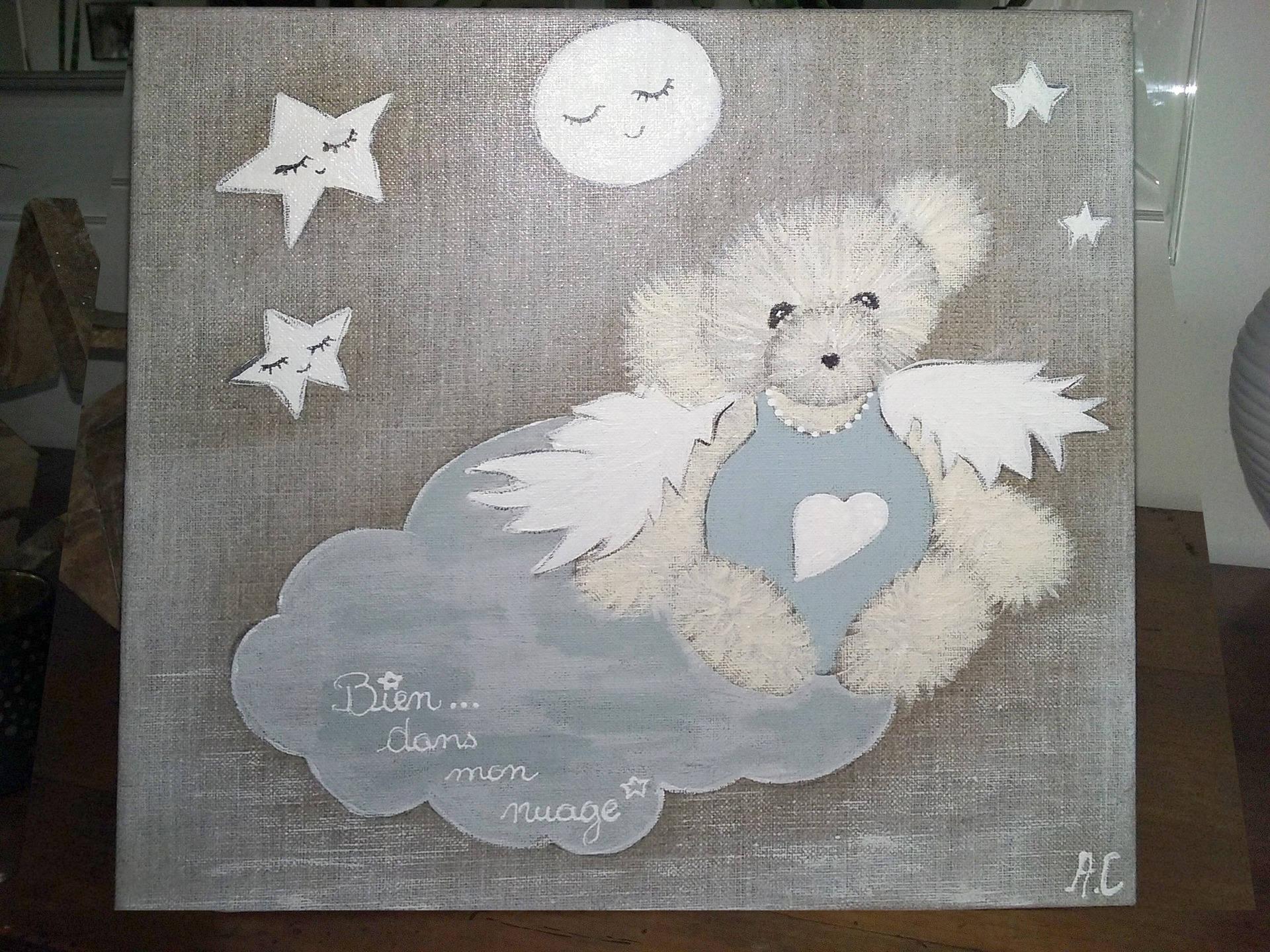 Tableau Peinture Décoratif Pour Chambre D'enfant tout Tableau De Peinture Pour Enfant