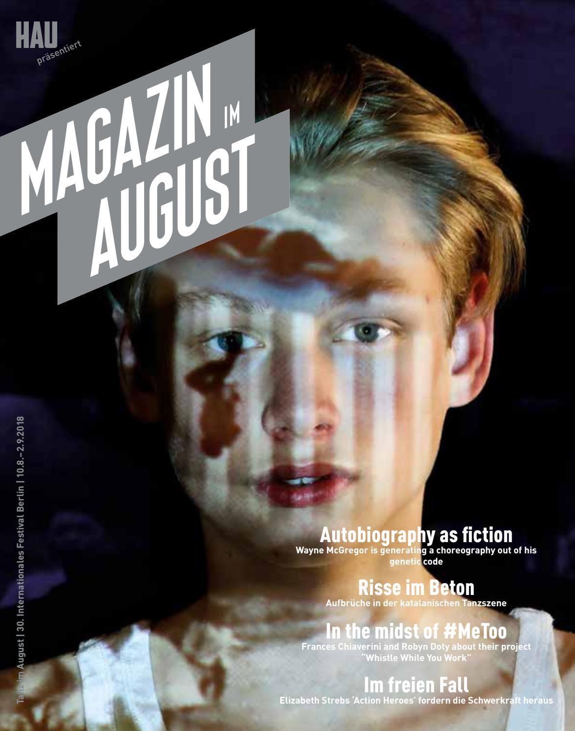 Tanz Im August 2018 Magazin By Tanz Im August - Issuu serapportantà Atelier Autonome Grande Section