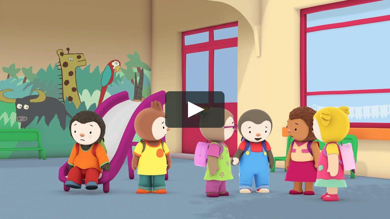 T'choupi À L'école - C'est La Rentrée avec Episode Tchoupi