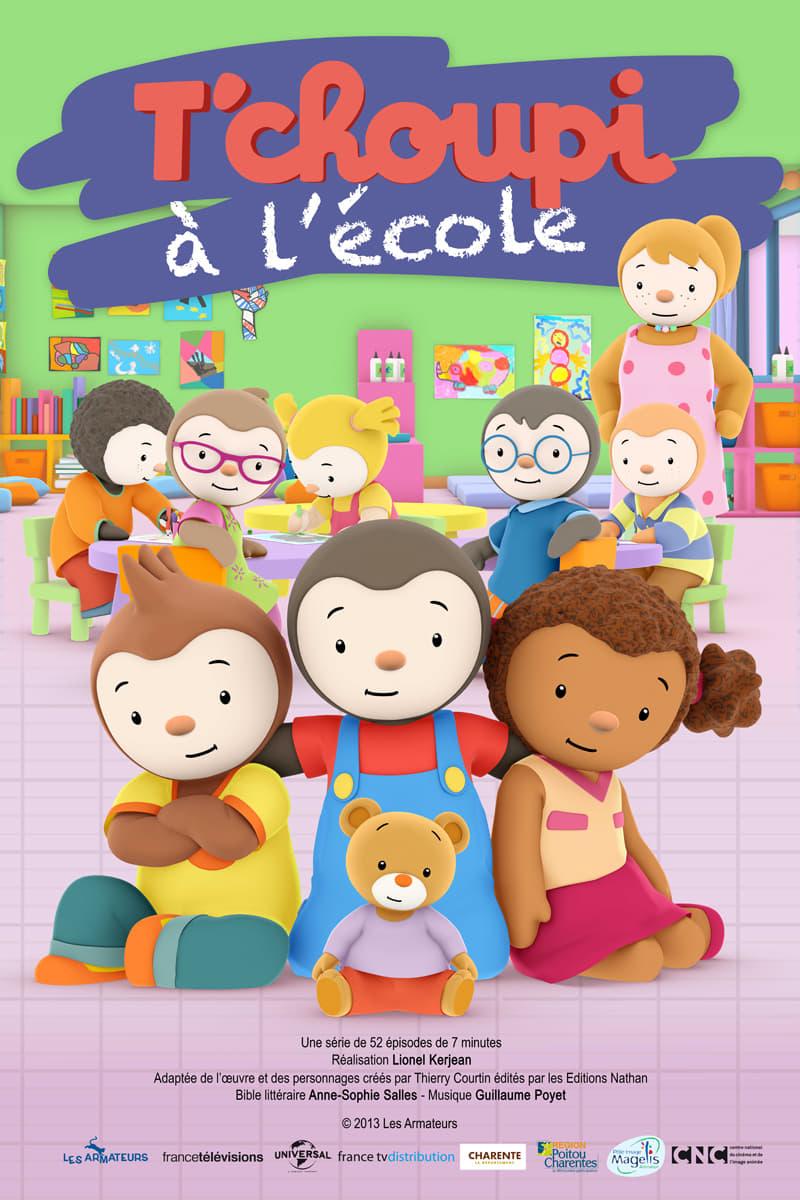 T'choupi À L'école (Tv Series 2013- ) - Posters — The Movie serapportantà Episode Tchoupi