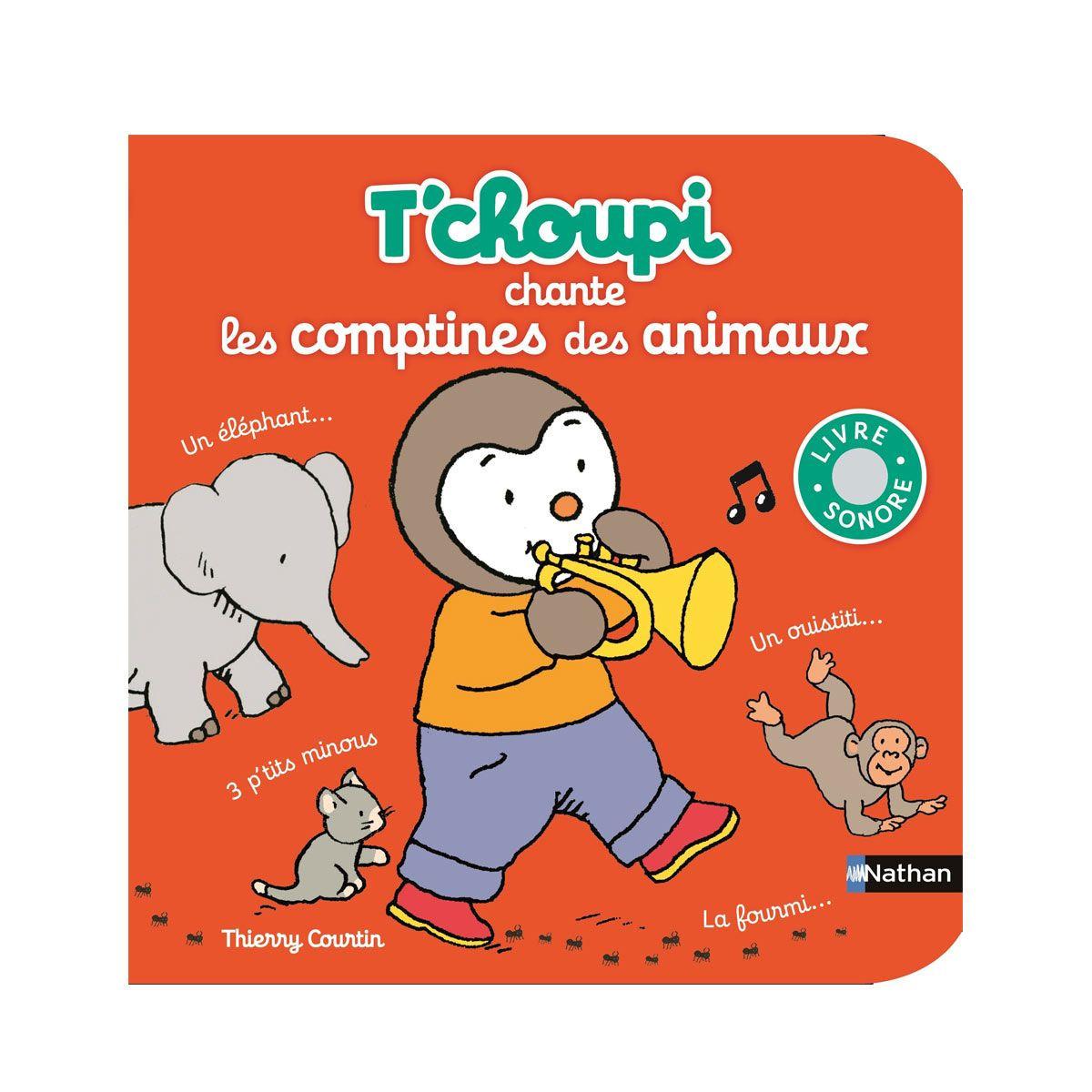 T'choupi Chante Les Comptines Des Animaux Nathan : Avis Et tout Tchoupi Au Marché