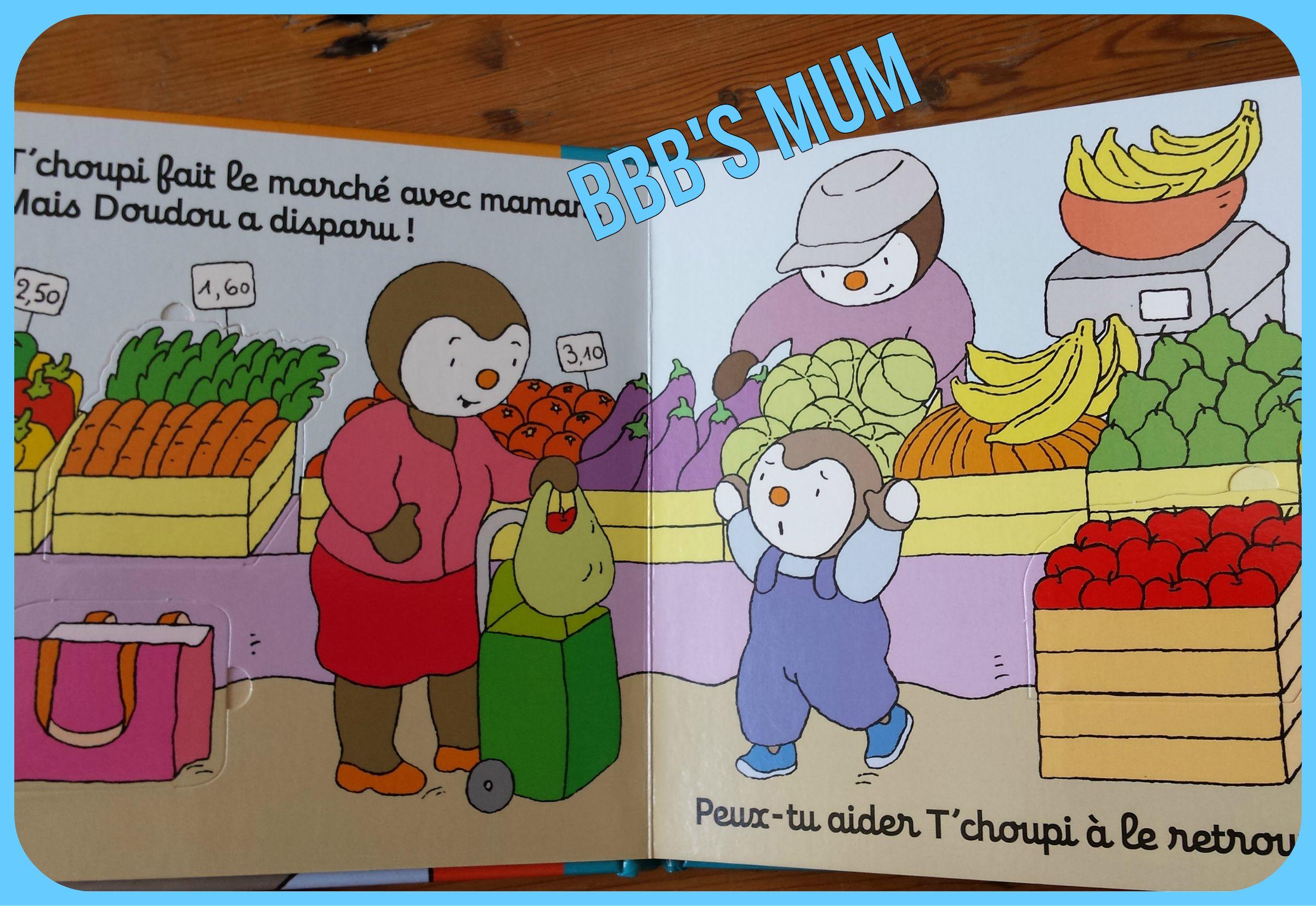 T'choupi L'ami Des Petits   Bbb's Mum pour Tchoupi Au Marché