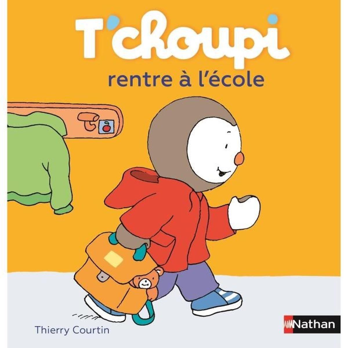 T'choupi Rentre À L'école - Achat / Vente Livre D'éveil encequiconcerne Tchoupi Au Marché