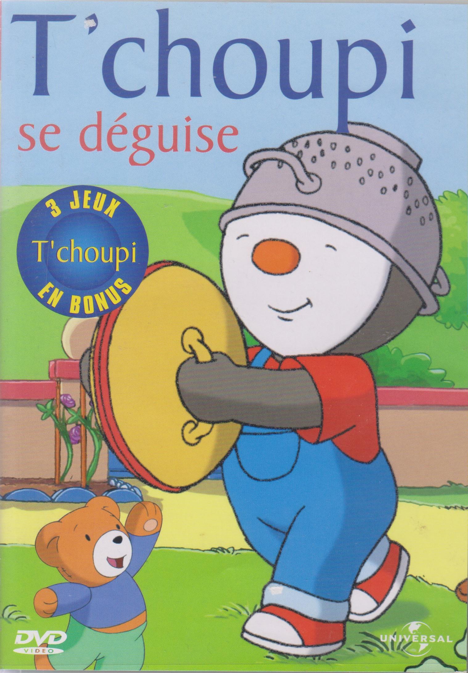 Tchoupi Se Déguise dedans Episode Tchoupi