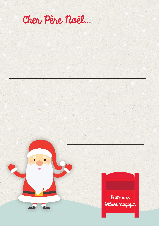 Téléchargement – Ma Lettre Au Père Noël – Le Blog Savoirsplus avec Liste Pere Noel Imprimer