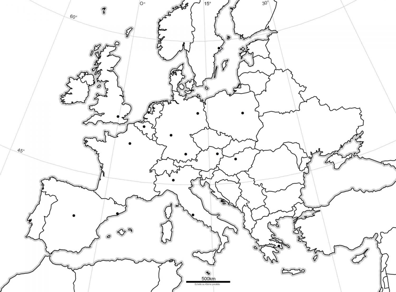 Télécharger Carte Europe Cm1 À Compléter Pdf | Carte Europe intérieur Union Européenne Carte Vierge
