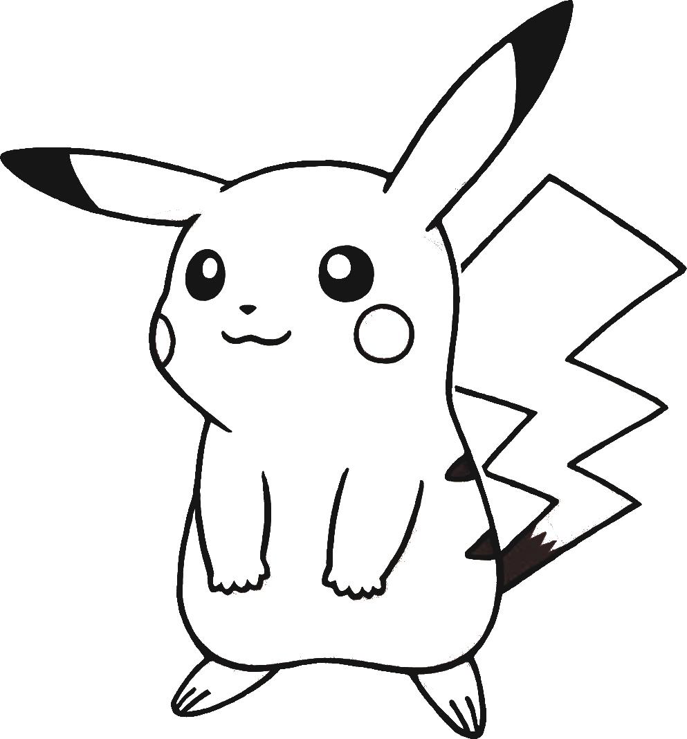 Télécharger Dessins & Arts Divers Coloriage Pokemon-Pikachu pour Coloriage De Pokémon Gratuit