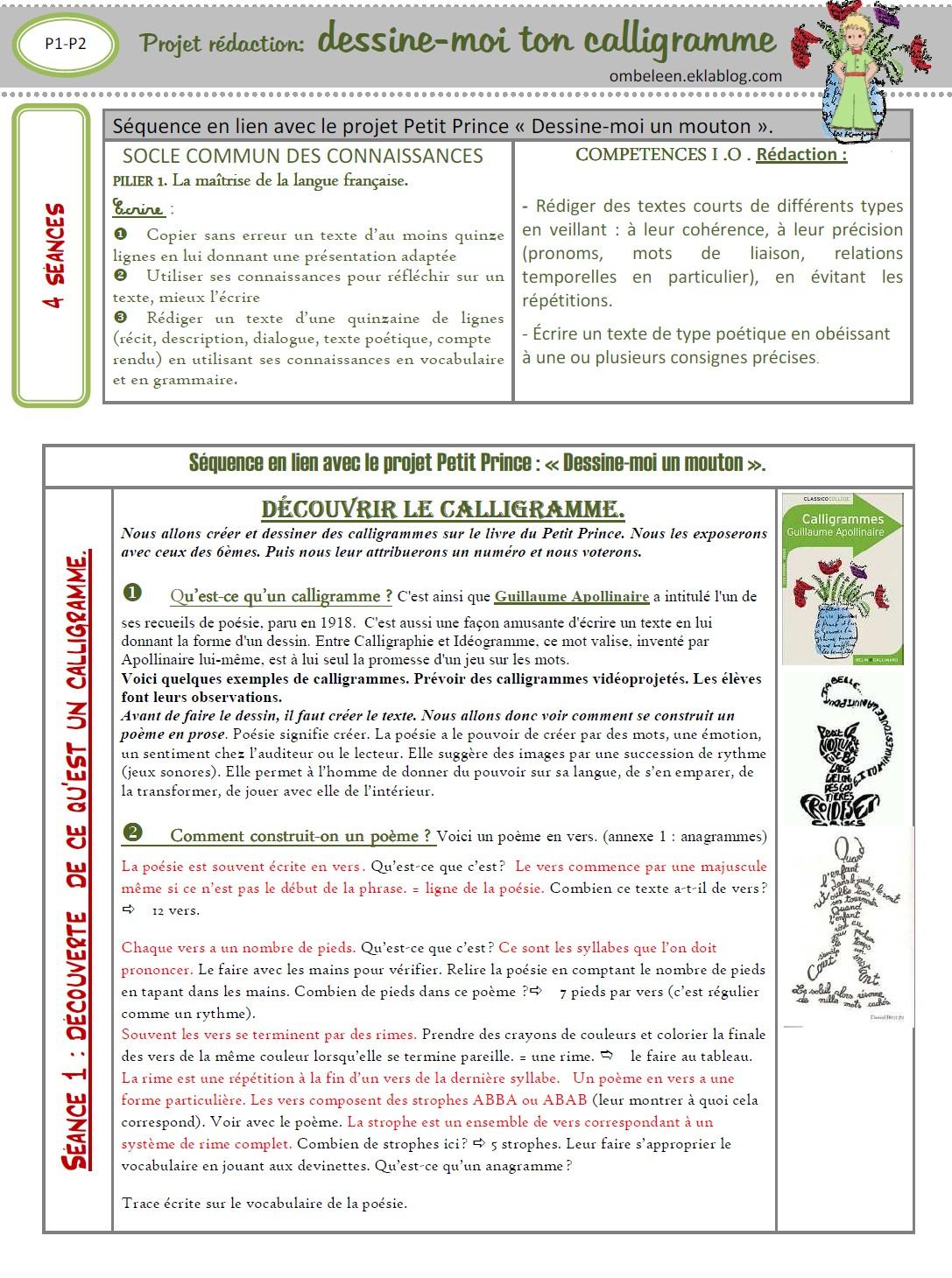 Télécharger Evaluation Poesie 6Eme Pdf | Strophe,lecture destiné Lutin Bazar Poésie