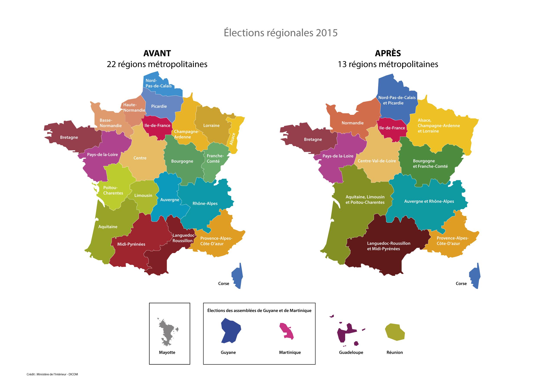Télécharger La Nouvelle Carte Des Régions / Actualités intérieur Nouvelle Carte Des Régions De France