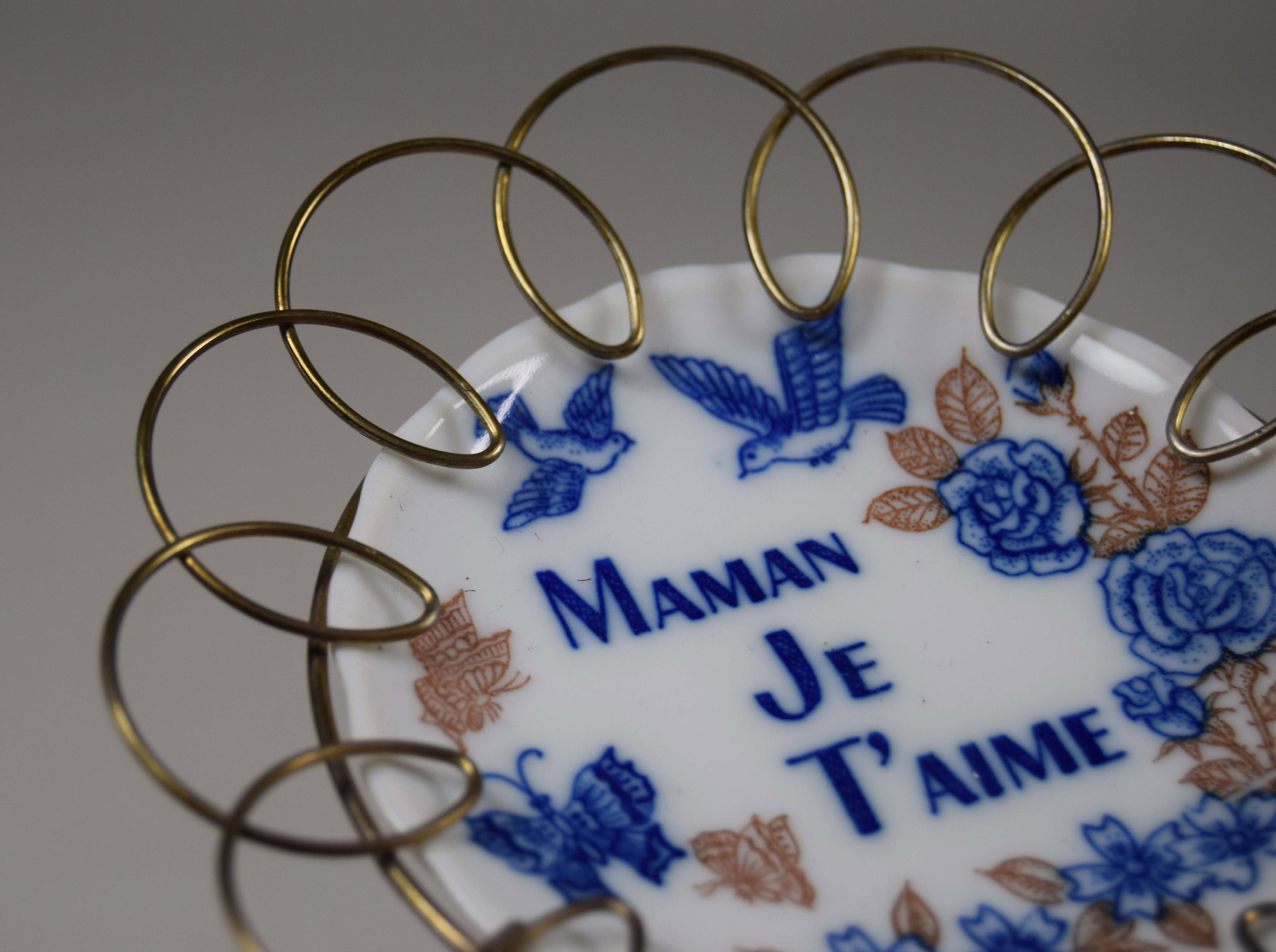 "Teller, ""maman Je T'aime"" - Mutter, Ich Liebe Dich pour Texte Maman Je T Aime"