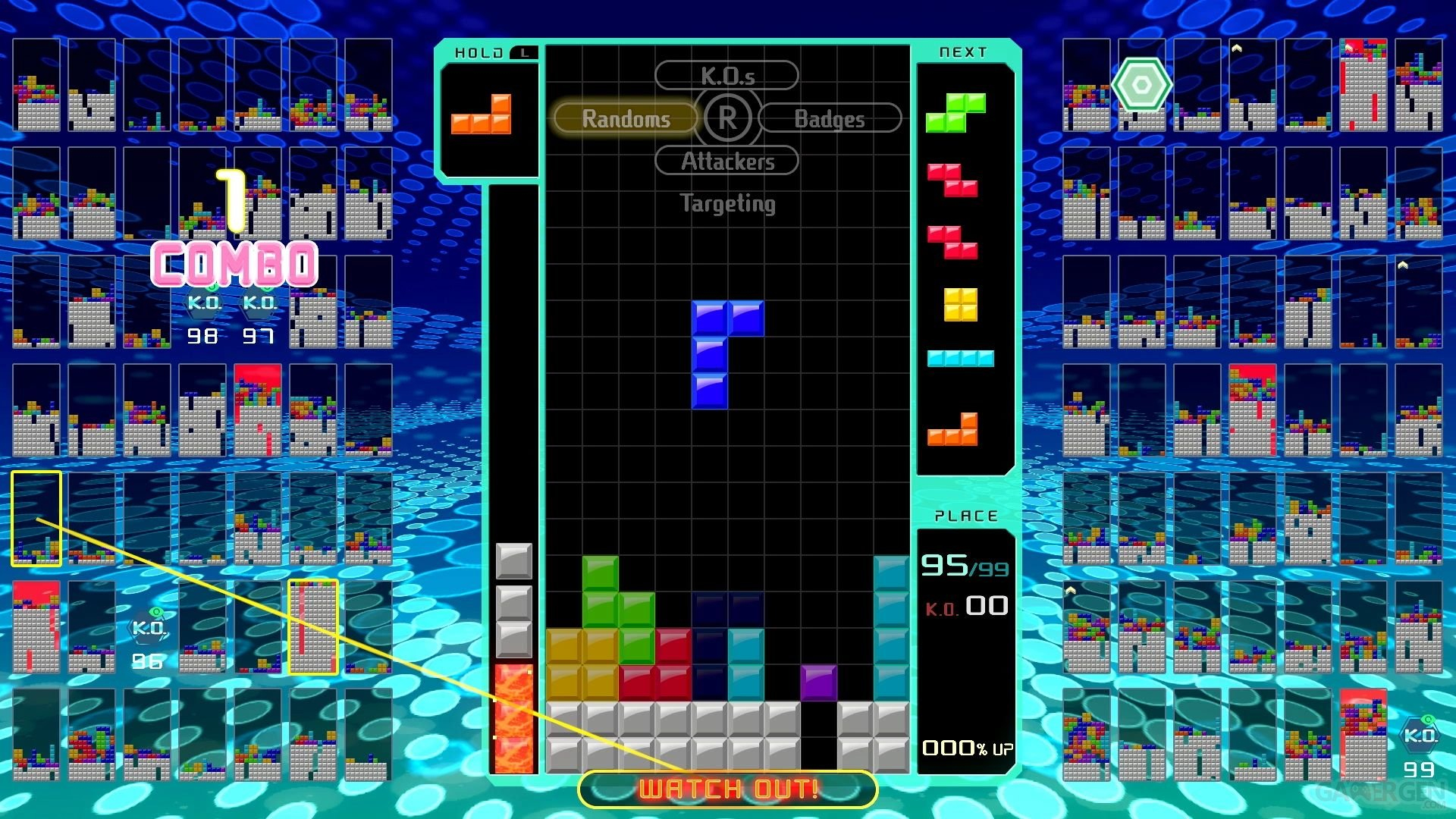 Test De Tetris 99 : Un Casse-Briques Battle Royale, Il Fallait Y Penser,  Nintendo L'a Fait dedans Jeux De Casse Brique Gratuit En Ligne