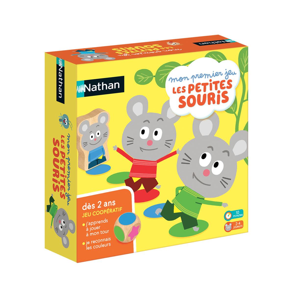Tests - Les Petites Souris - Plateau Marmottes tout Jeux Educatif 3 Ans