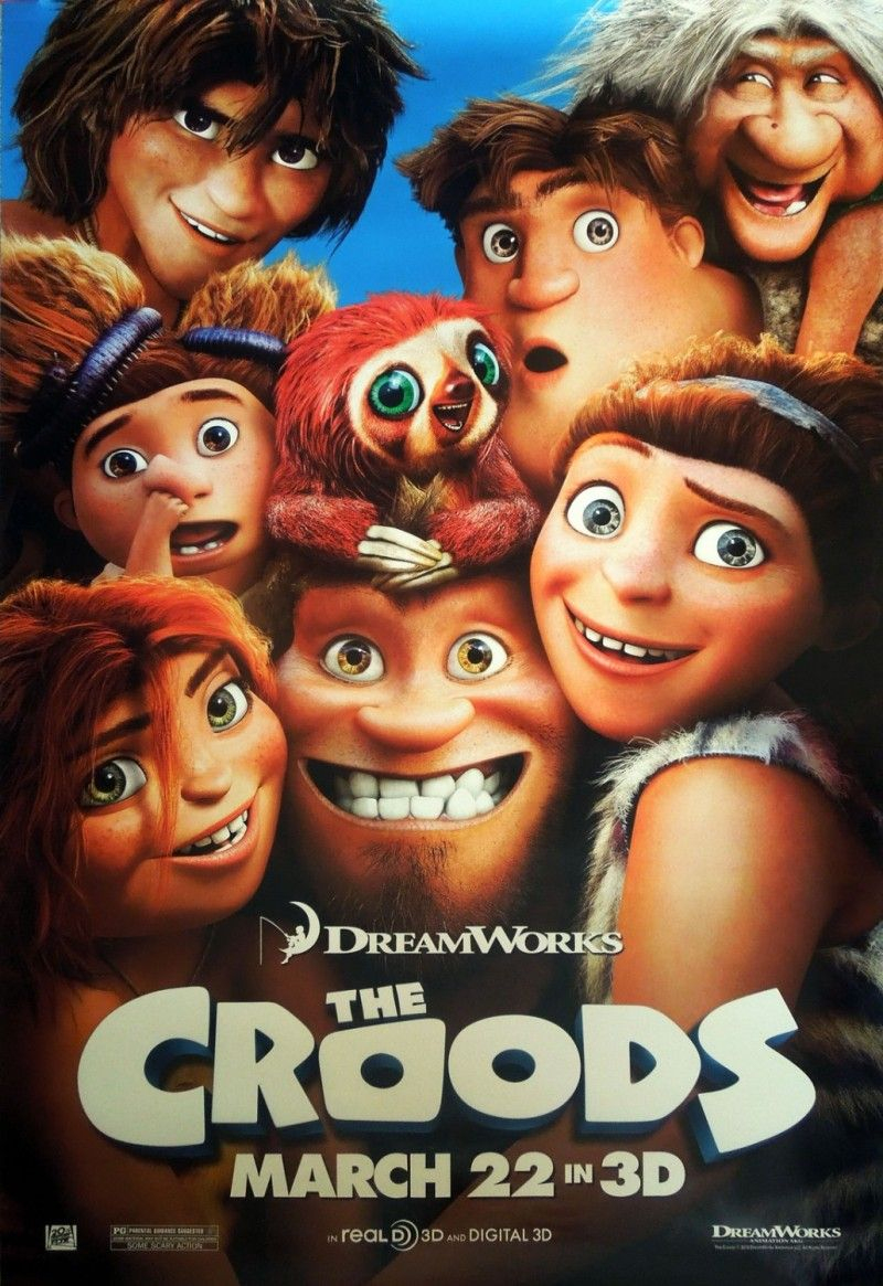 The Croods | Dreamworks Movies, Cartoon Movies, Scary Movies encequiconcerne Film D Animation Dreamworks