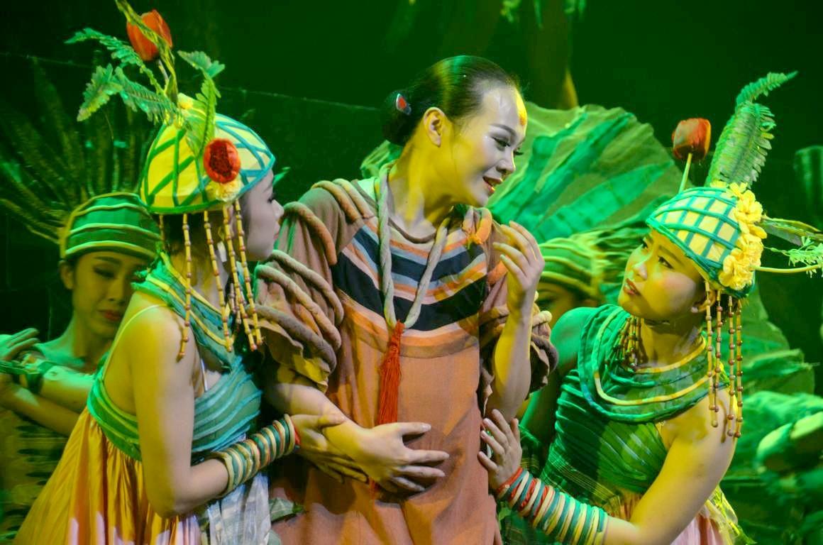 The Legend Of The Sun : Un Spectacle De Danses Chinoises avec Spectacle Danse Chinoise