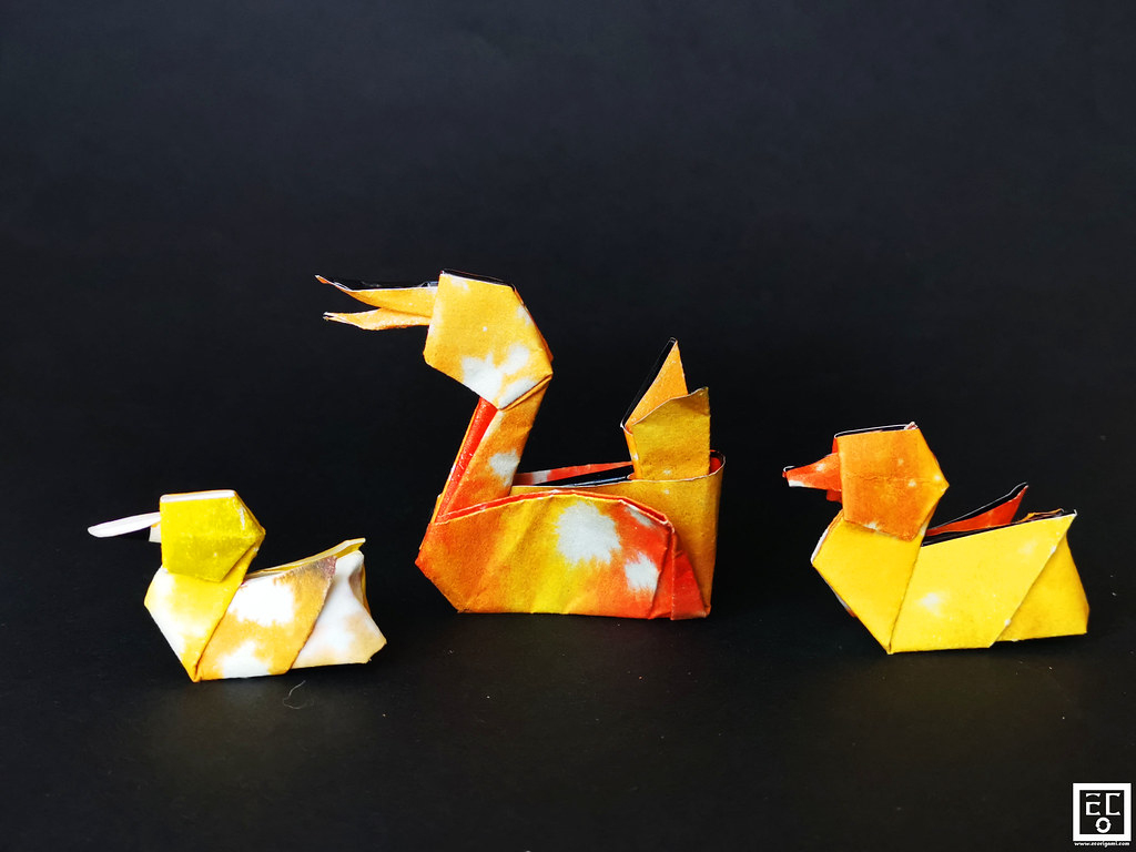 The World's Best Photos Of Anatra And बत्तख - Flickr serapportantà Origami Canard