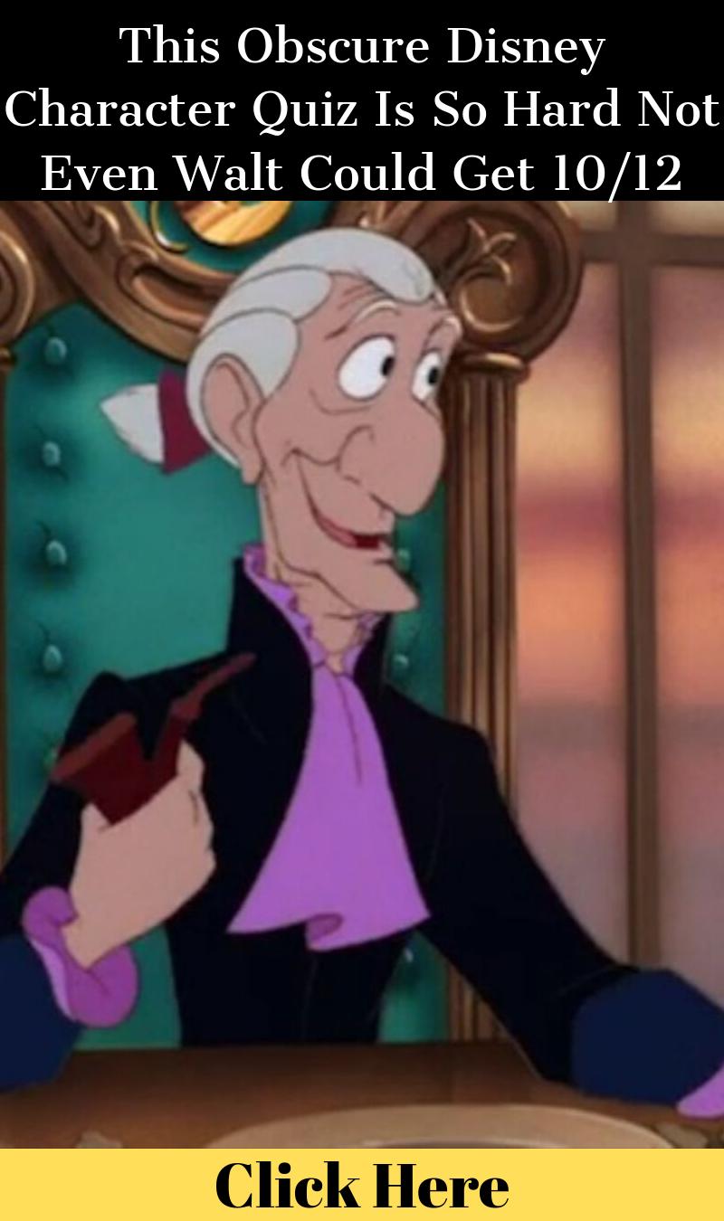 This Obscure Disney Character Quiz Is So Hard Not Even Walt intérieur Quiz Musical En Ligne