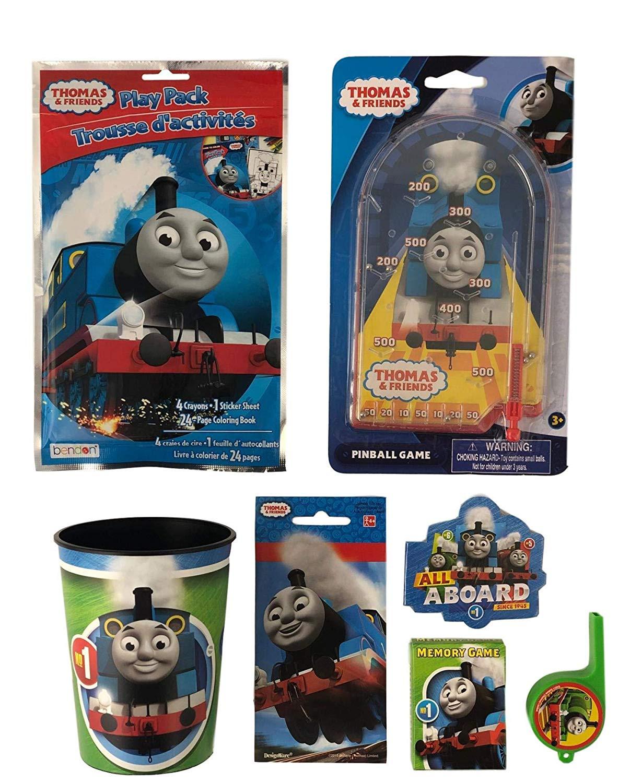 Thomas & Friends Party Pack De Stickers 6 Feuilles pour Coloriage Thomas Le Petit Train