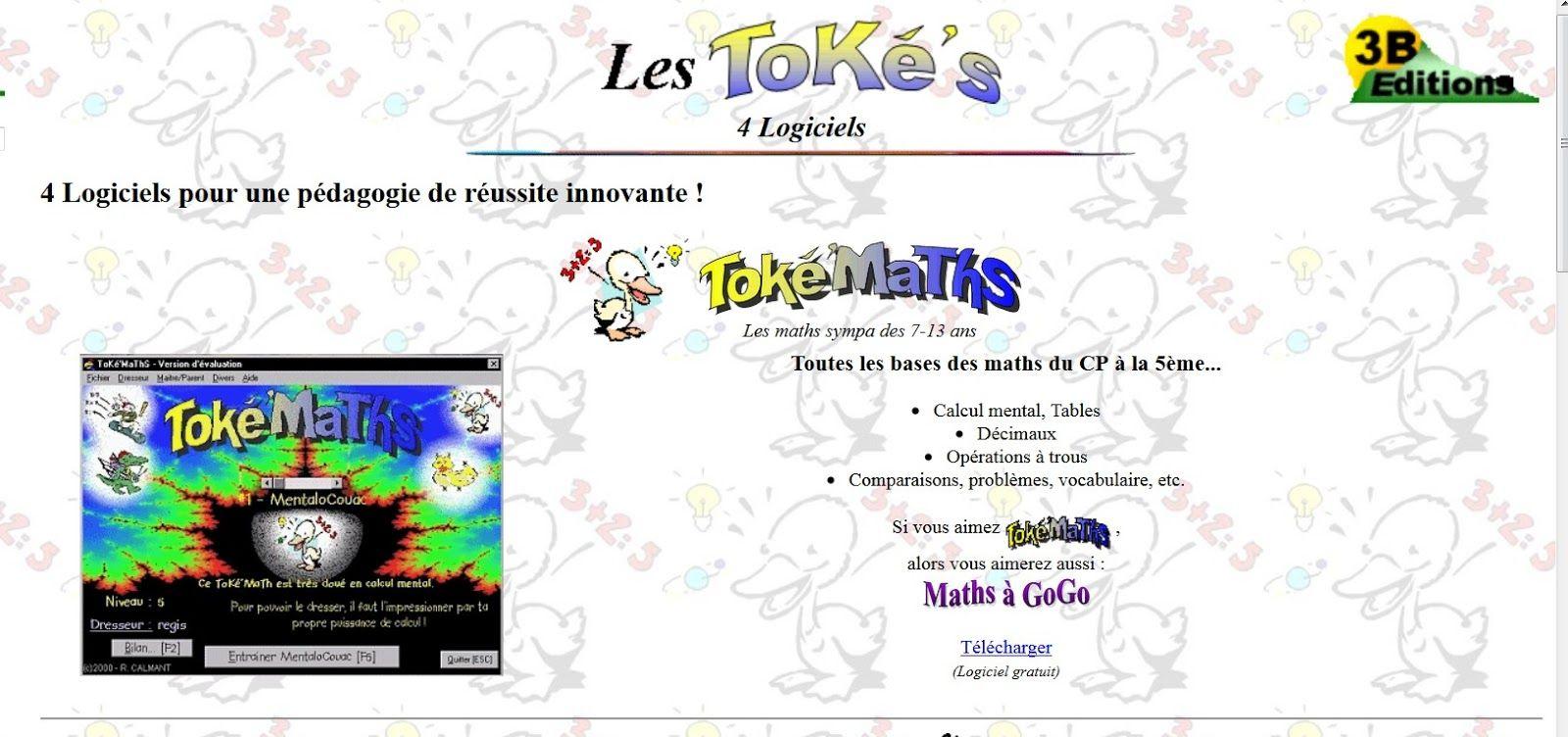 Toke'maths, C'est Un Petit Logiciel Ou Un Jeu En à Jeux De Puissance 4 Gratuit