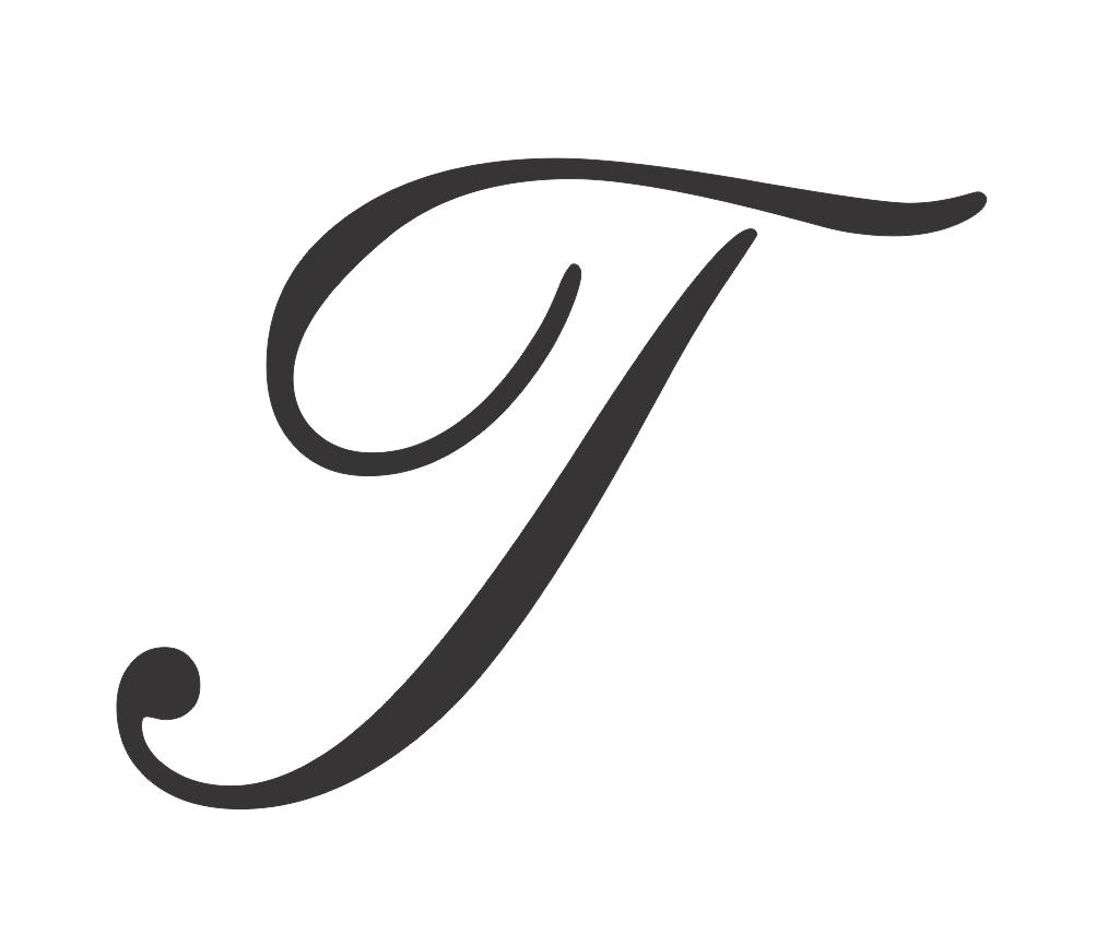 Top Ten Capital Letter Cursive T serapportantà T Majuscule En Cursive