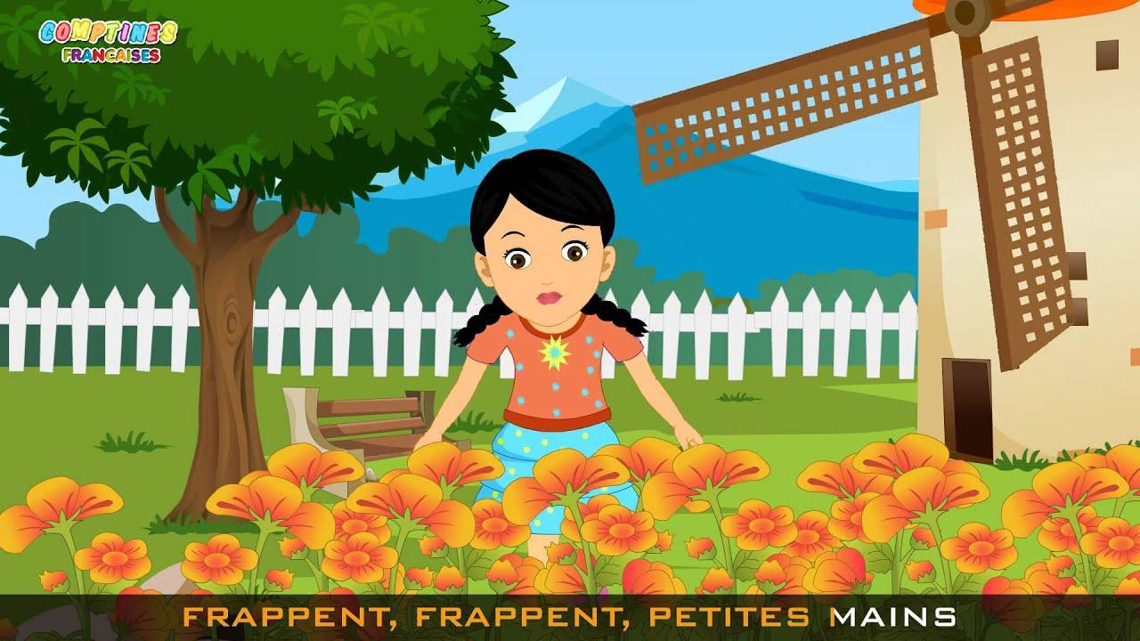 Tourne Tourne Petit Moulin | Comptines Et Chansons Pour Enfants avec Petit Moulin Chanson