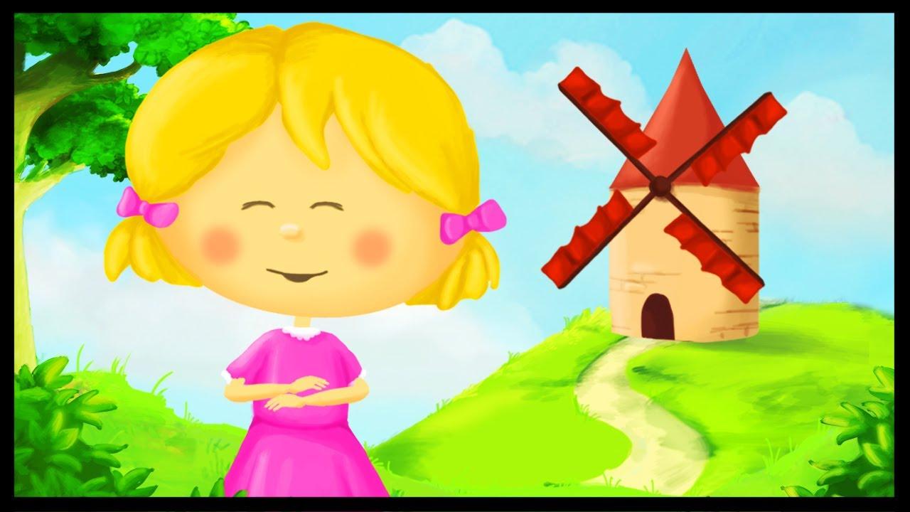 Tourne Tourne Petit Moulin concernant Petit Moulin Chanson