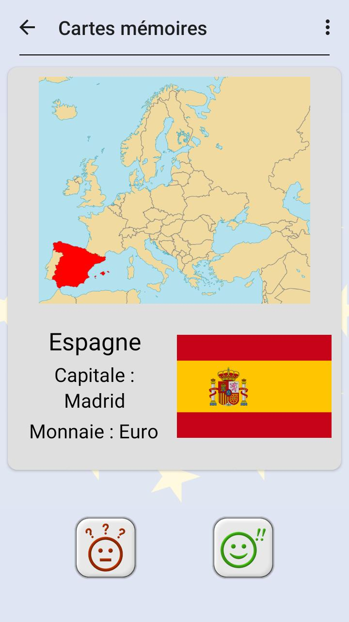Tous Les Pays D'europe - Les Drapeaux Et Capitales Pour serapportantà Carte Europe Capitale