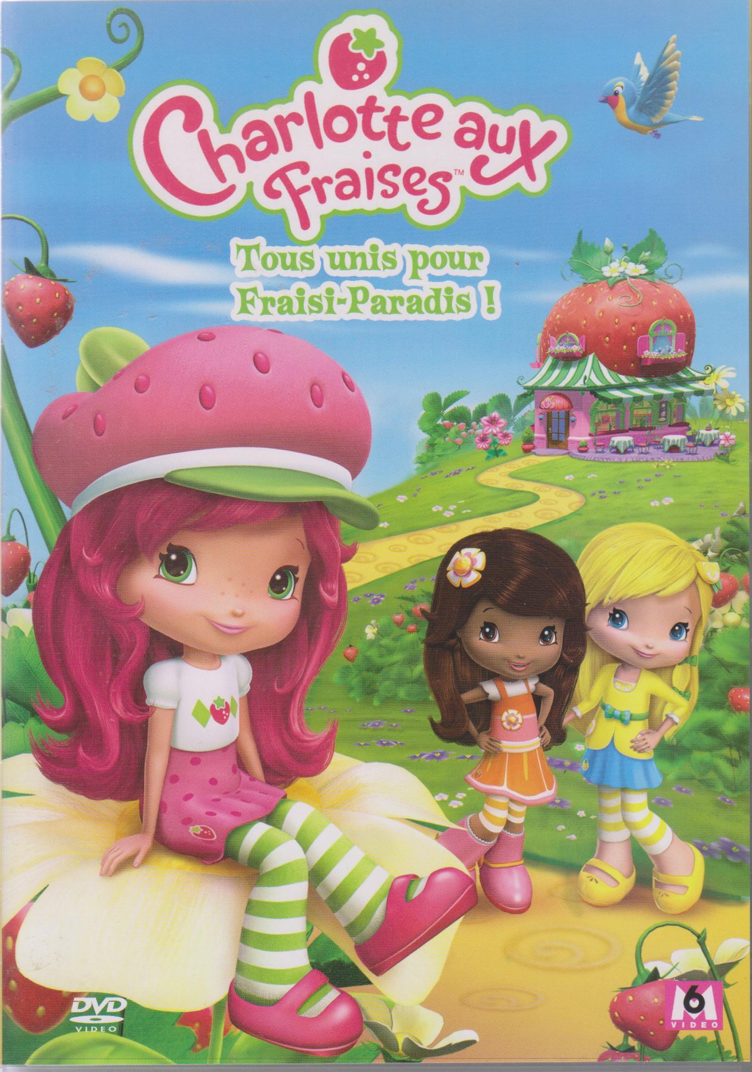 Tous Unis Pour Fraisi-Paradis concernant Coloriage Charlotte Aux Fraises Et Ses Amies
