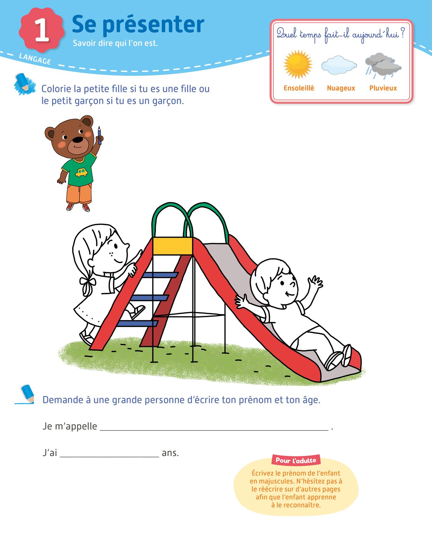 Toute Ma Maternelle- Petite Section 3-4 Ans | Hachette encequiconcerne Grande Section Maternelle Age