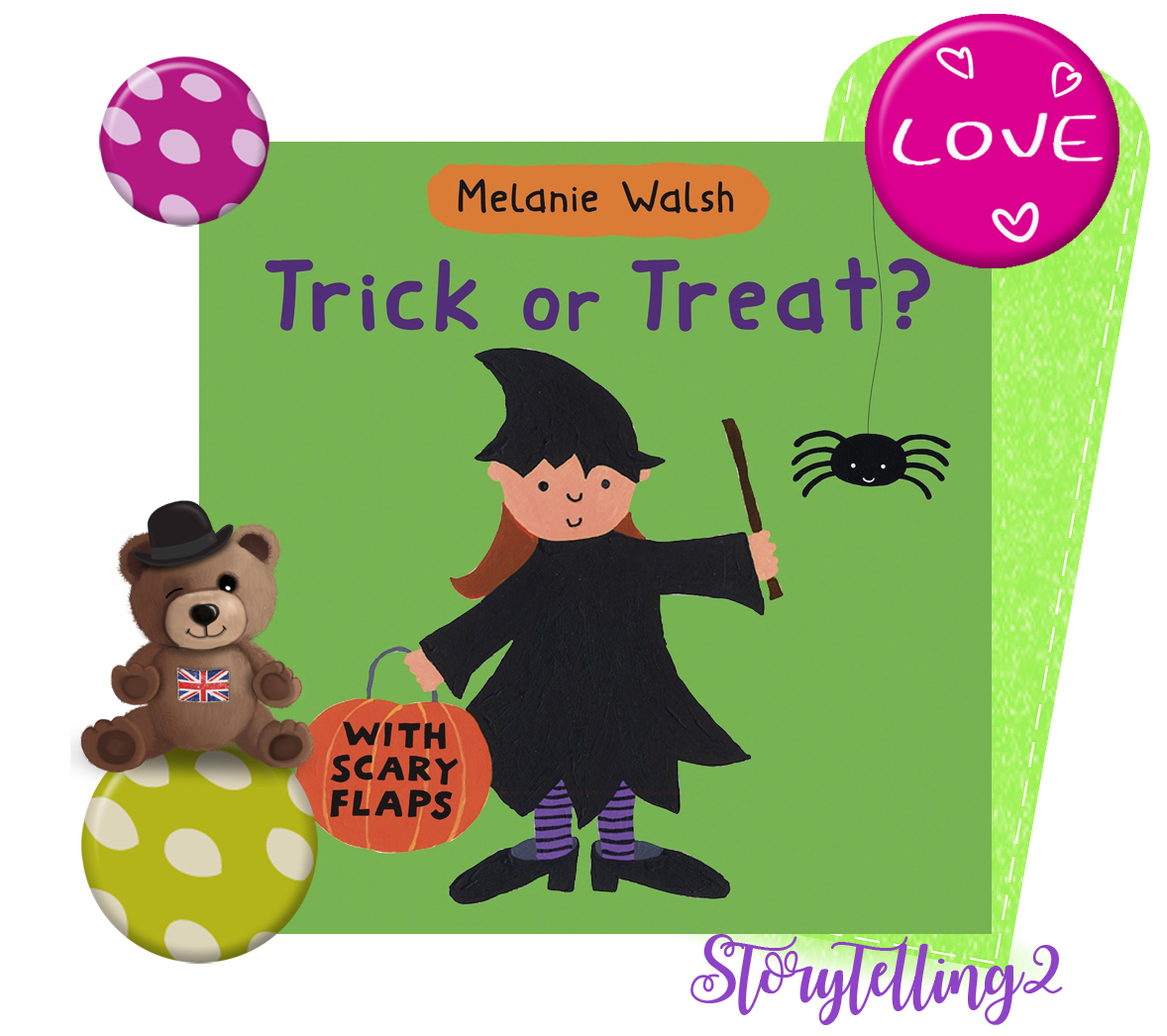 Trick Or Treat, Melanie Walsh, Halloween Cycle 2 - Brown à Halloween Ce2